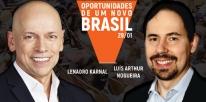 Evento sobre planejamento, estratégia e futuro econômico do Brasil traz Leandro Karnal e Luís Artur Nogueira