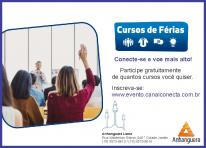 Participe dos cursos de férias gratuitos da Anhanguera Educacional