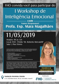 Participe do I Workshop de Inteligência Emocional da FHO|Uniararas